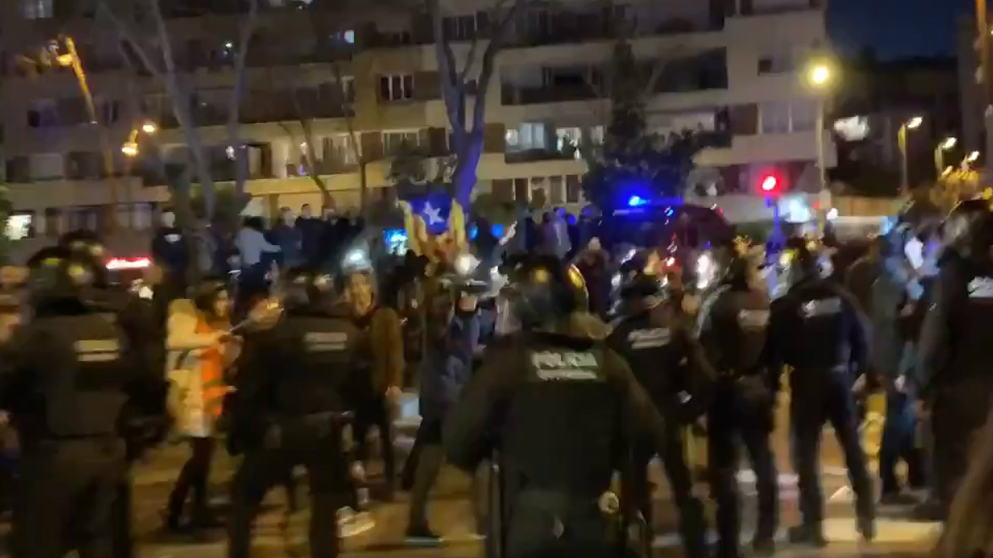 Escrache a Vox en Barcelona, este sábado