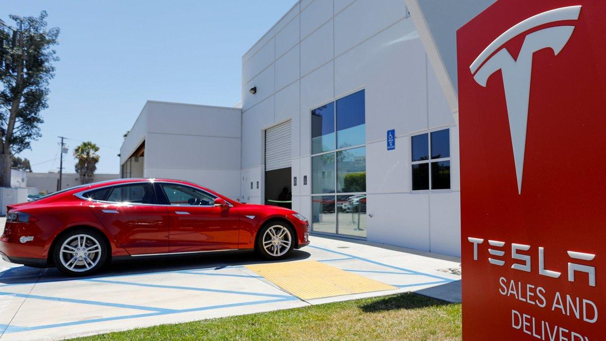 Establecimiento de Tesla en Estados Unidos.
