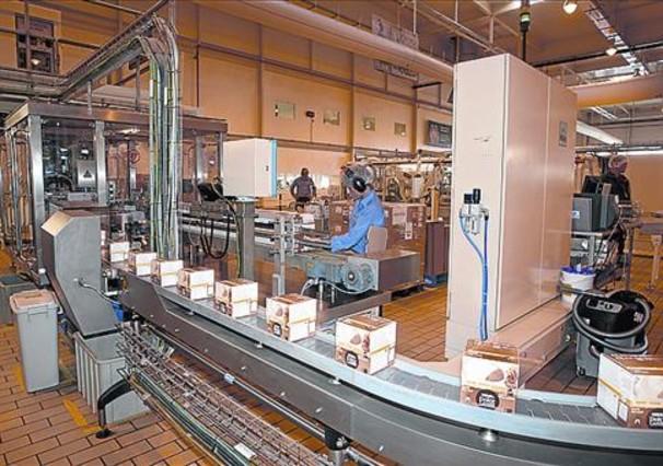 Fábrica de Nestlé de Girona.