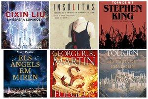 Fantasia i ciència-ficció: 15 llibres recomanats per Sant Jordi 2019