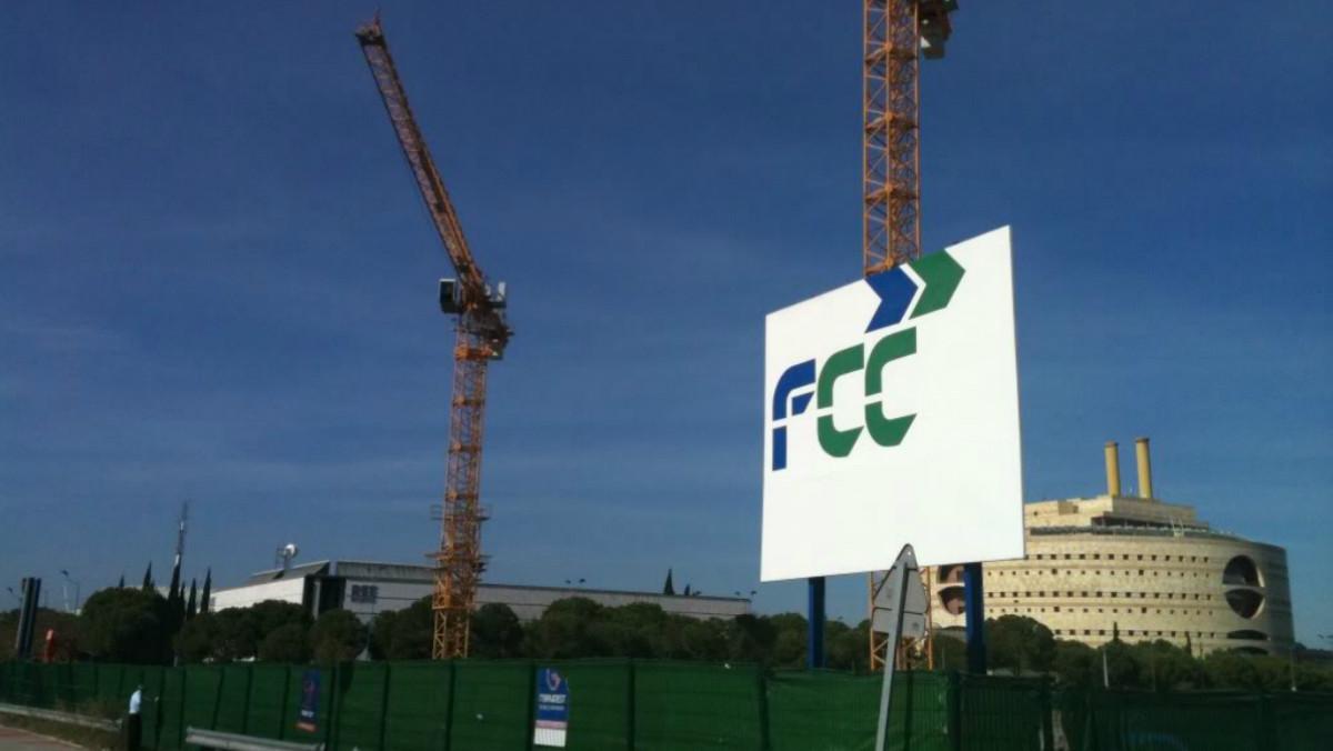 Imagen de archivo de unas obras a cargo deFomento de Construcciones y Contratas (FCC).