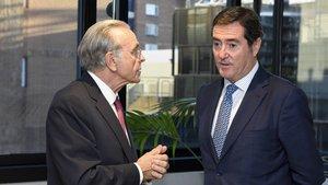 La CECA aportará hasta 45.000 millones en crédito a las empresas de la CEOE