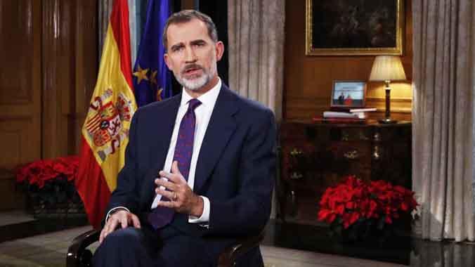 El Rei alerta del risc que reneixi rancor entre espanyols