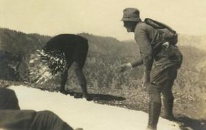 Fotografía de 1930, de autor anónimo, que formará parte de la exposición Toda fotografía es un enigma, de Michel Frizot, en Foto Colectania.