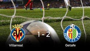 El Getafe venció en el estadio del Villarreal