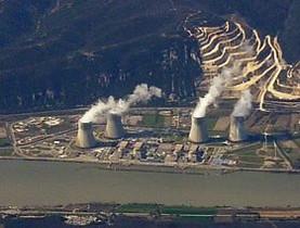 La central nuclear de Cruas-Meysse.