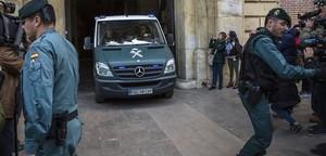 Guardia Civil en Valencia.