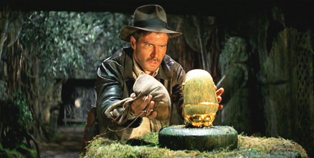 Harrison Ford protagoniza 'Indiana Jones: en busca del arca perdida'.