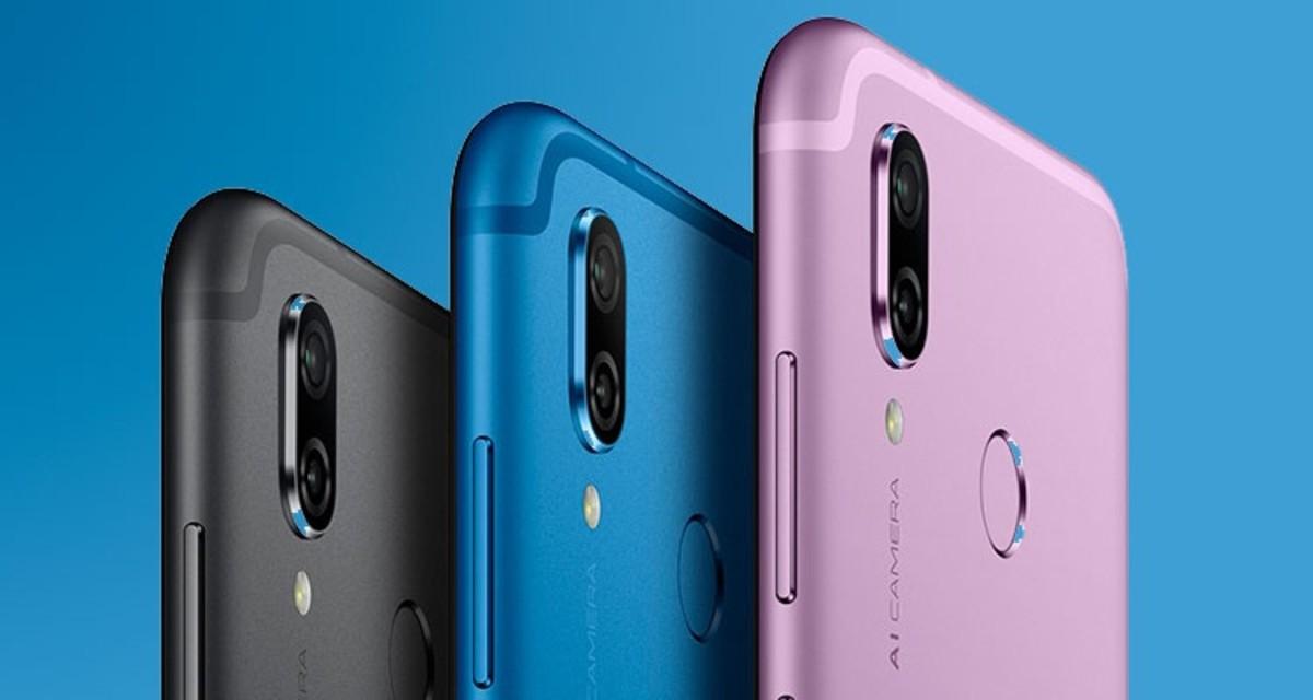 Nuevo móvil Honor Play, de Honor, marca de Huawei.