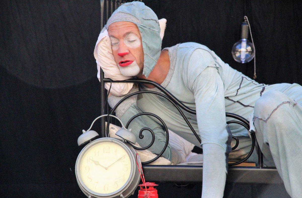 Una imagen del espectáculo 'Insomni', de Dudu Arnalot, que estará en La Farinera del Clot.