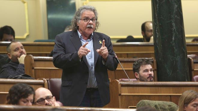 Intervención de Tardà en el Congreso: Quieren escarmentar a Catalunya. La sentencia ya está firmada.