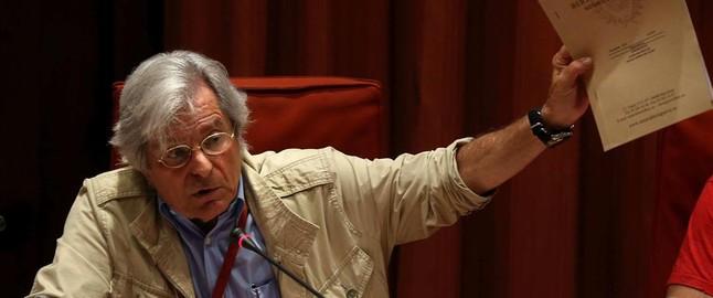 Javier Nart, al Parlament.