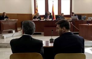 El dur marcatge d'Hisenda al Barça