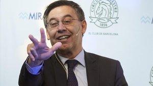 Bartomeu diu que aplicarà l'erto al Barça malgrat l'aportació extra del primer equip