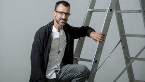 Jesús García Bragado, que ha logrado su clasificación para Tokio, posa para El Periódico ante de una entrevista