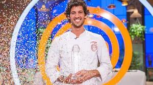 Jorge, ganador de la quinta edición del concurso gastronómicode TVE-1 Masterchef.