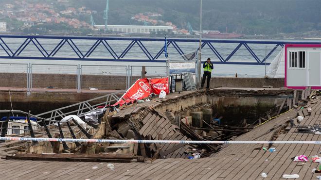 L'ensorrament de la plataforma de Vigo es converteix en una lluita política entre PSOE i PP