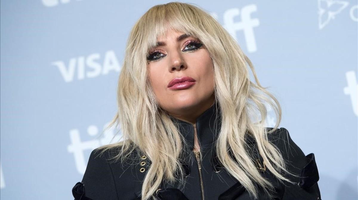Lady Gaga atiende a la prensa durante una conferencia en el Festival de Cine de Toronto, el pasado 8 de septiembre.