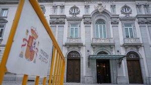 Edifico del Tribunal Supremo en Madrid.
