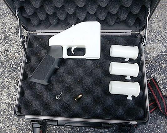 'Liberator', la primera pistola de fabricación casera en impresora 3D creada en EEUU, hace un año.
