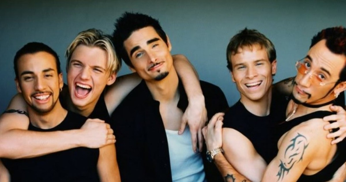 Los Backstreet Boys.