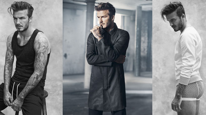 Making-of de David Beckham y Marc Forster para H&M.