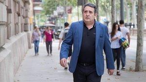 Manuel Bustos, el pasado junio, a su llegada al TSJC