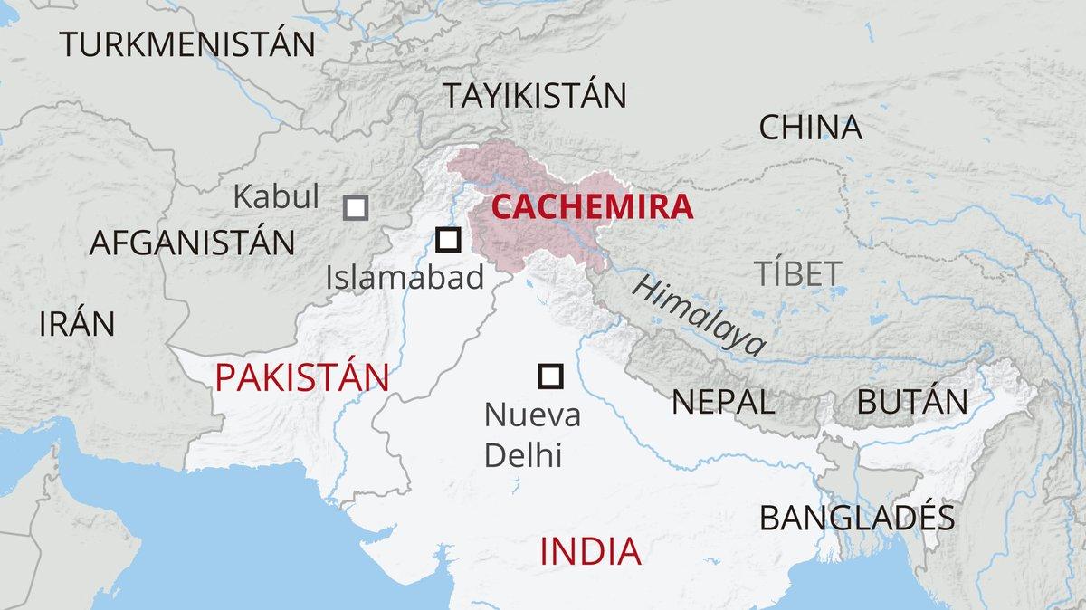 Cinco claves para entender el conflicto por Cachemira entre la India y Pakistán
