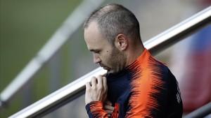 """El Vissel Kobe, """"sorprès"""" pel fitxatge d'Iniesta"""