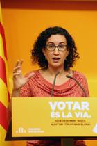 Roda de premsa de Marta Rovira a la seu dERC.