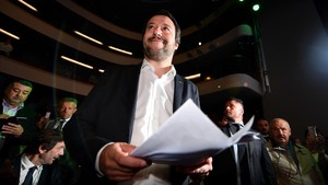El ministro del Interior italiano, Matteo Salvini.