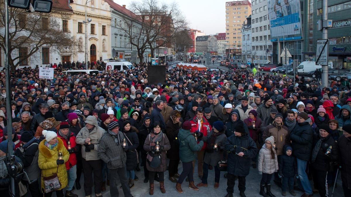 Crisi política a Eslovàquia per l'assassinat del periodista Jan Kuciak