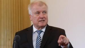 El ministro del Interior alemán, Horst Seehofer.