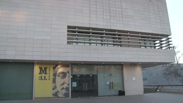 El Museu de Lleida ha entregat al Govern d'Aragó el quadro 'La Immaculada' originari del monestir de Sixena.