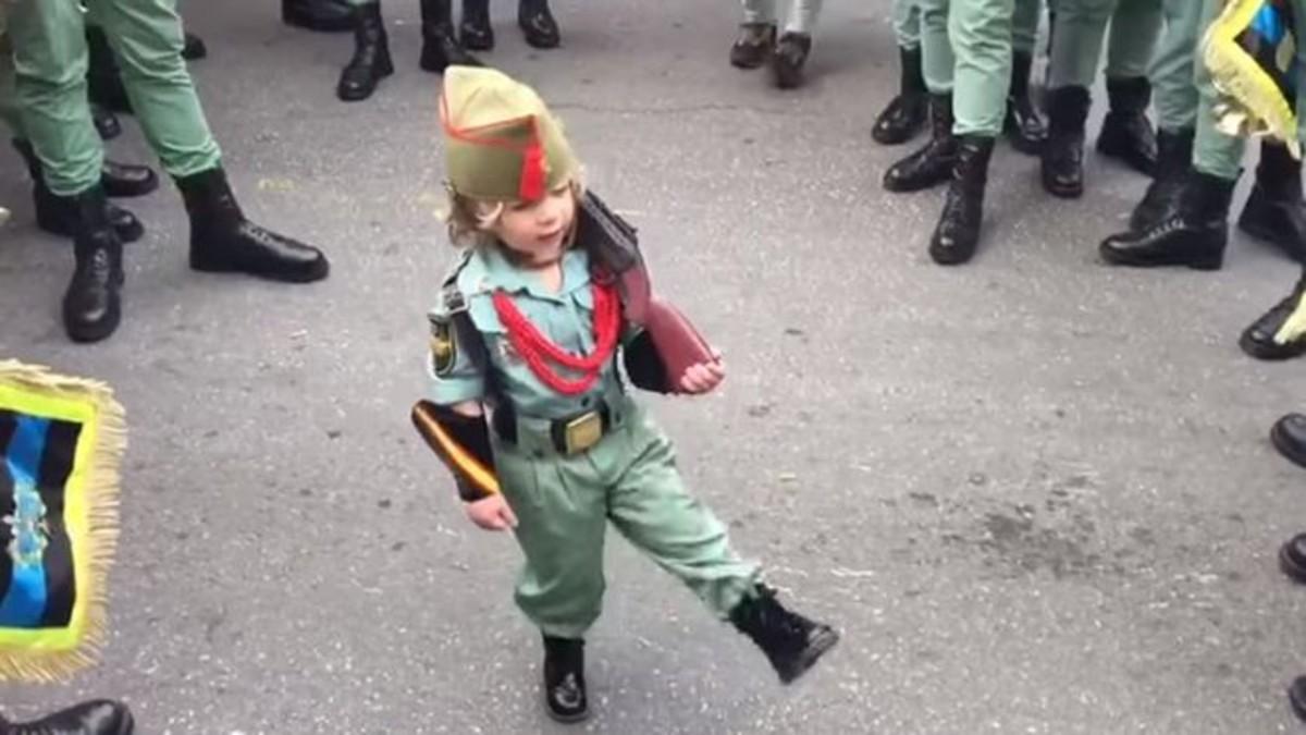 El niño legionario