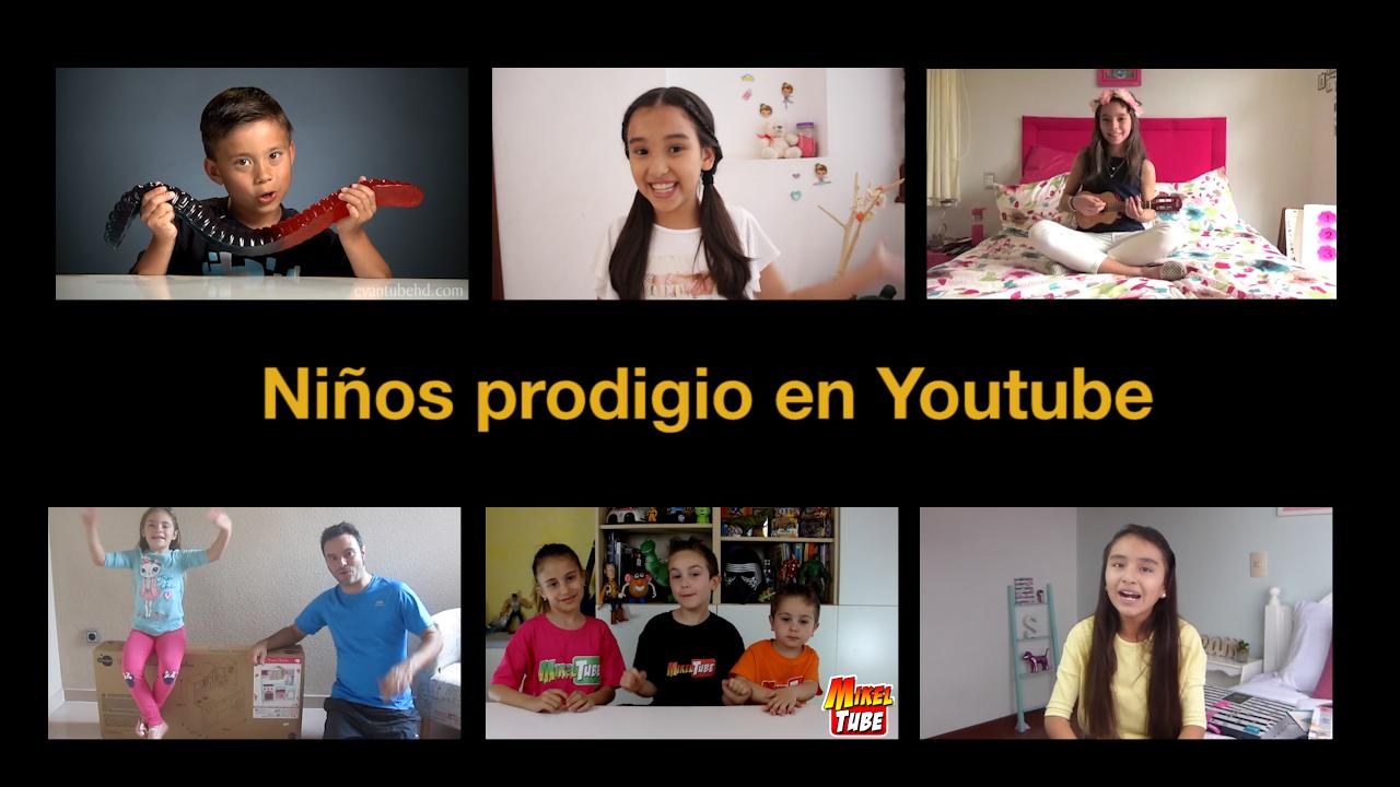 Niños prodigios en Youtube.