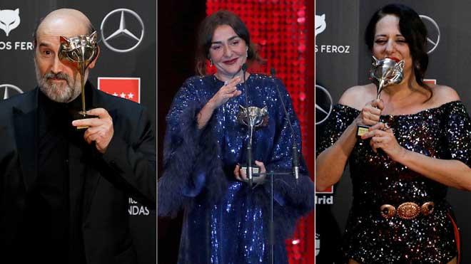 Javier Cámara, Candela Peña i Yolanda Ramos triomfen en els Feroz