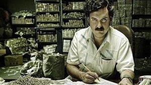 El actor colombiano Andrés Parra caracterizado como Pablo Escobar en la serie Escobar, el patrón del mal, de Caracol Televisión.