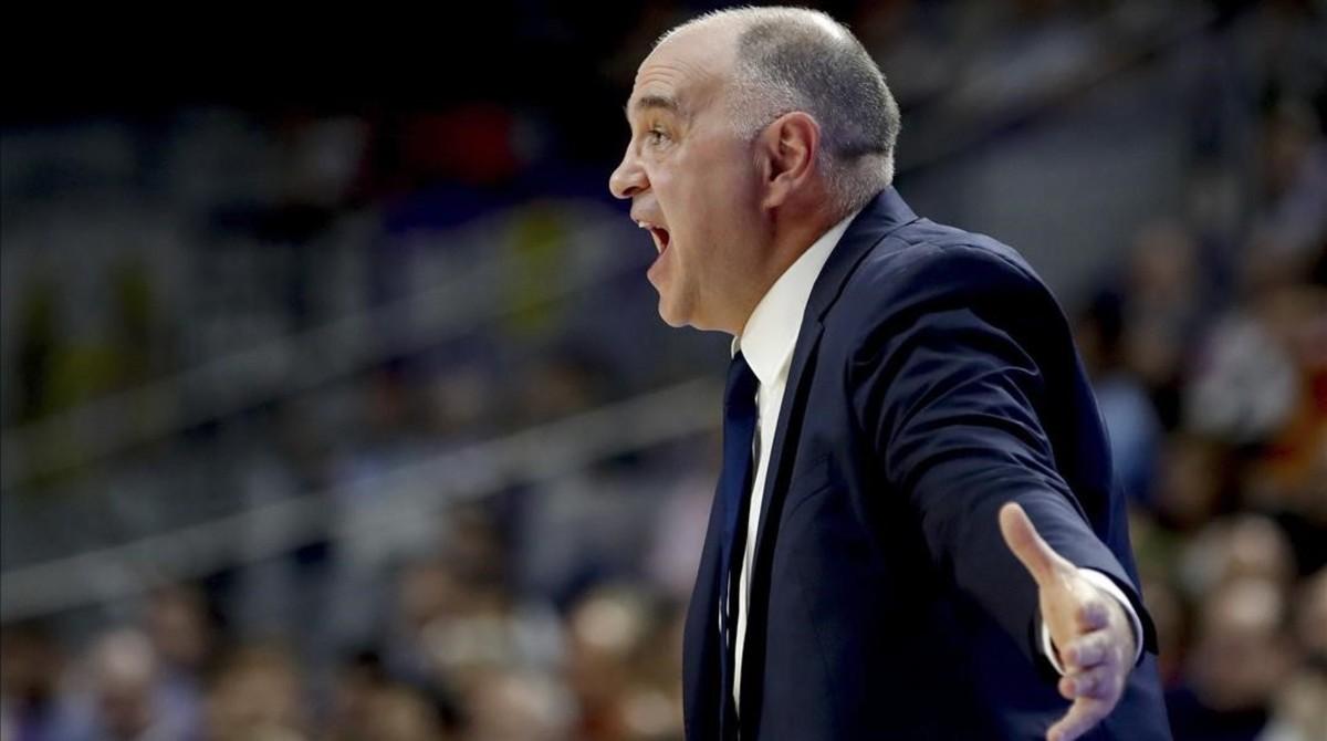 Pablo Laso, entrenador del Real Madrid.