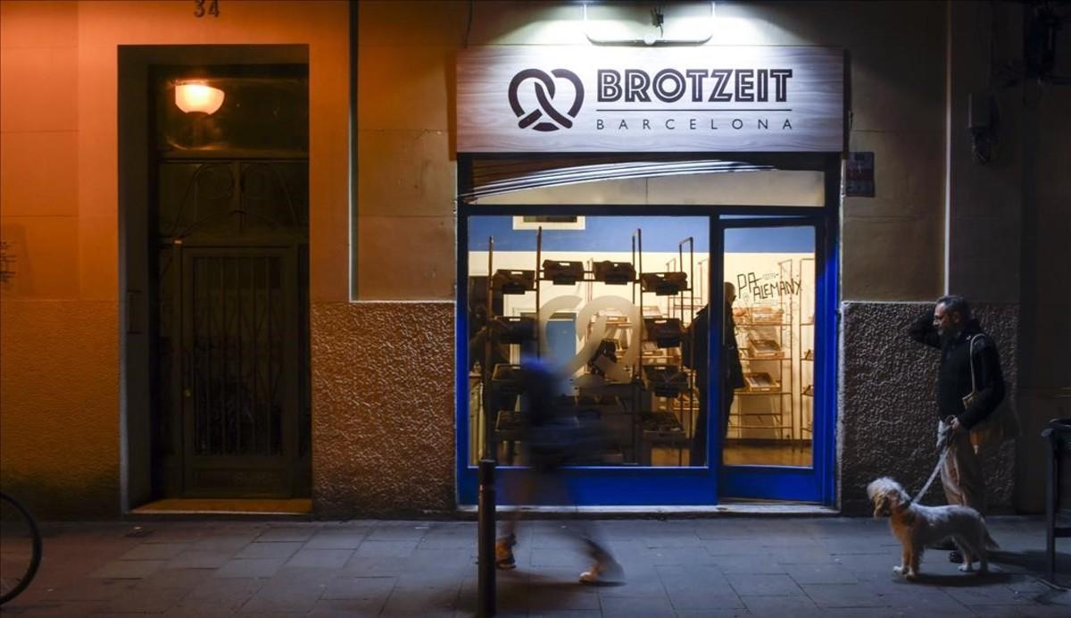 La panadería de la calle de Puigmartí donde compra el panTer Stegen.