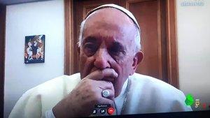 El papa Francisco, en 'Lo de Évole'.