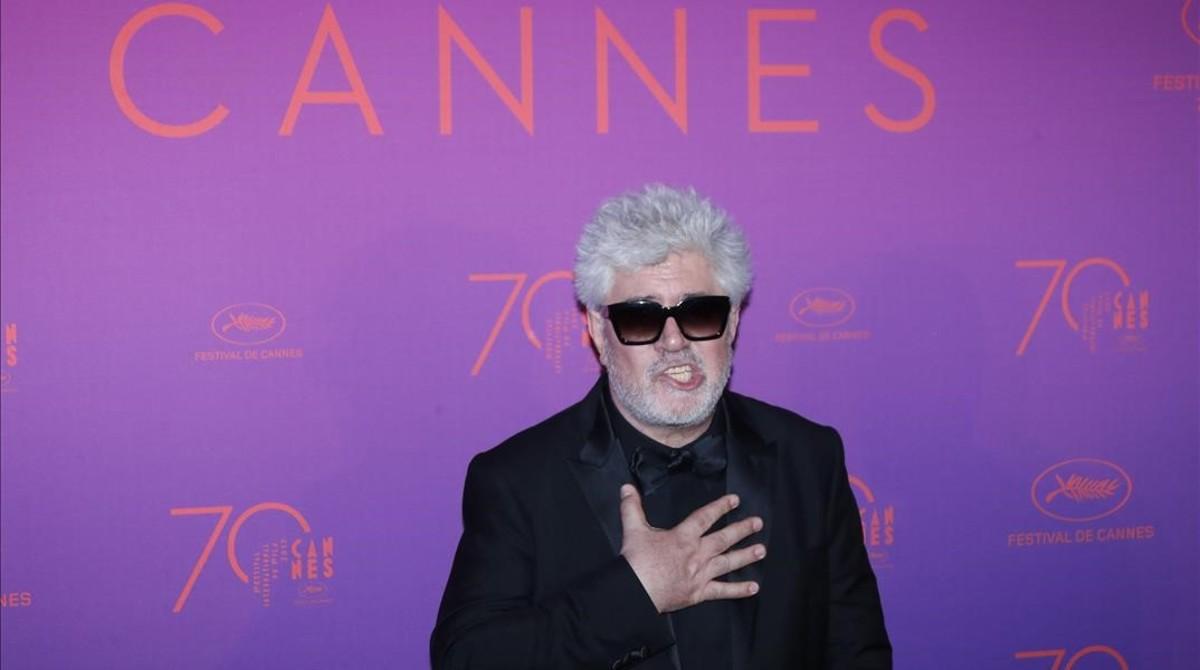 Pedro Almodóvar, en el 2017,en Cannes.
