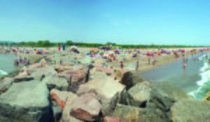 Playa de Viladecans en una imagen de archivo