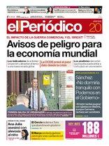 La portada de EL PERIÓDICO del 20 de septiembre del 2019.