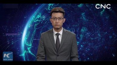 China 'ficha' un presentador de inteligencia artificial en inglés