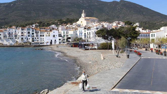 Primer fin de semana de Semana Santa en Cadaqués.