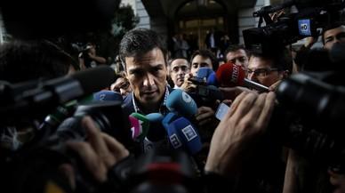 Pedro Sánchez: chico nuevo en la bancada