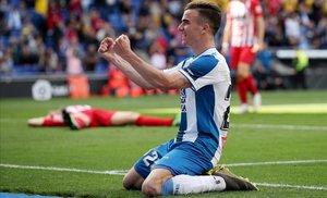 Un Espanyol imperial passa per sobre de l'Atlètic en el seu millor partit de la temporada
