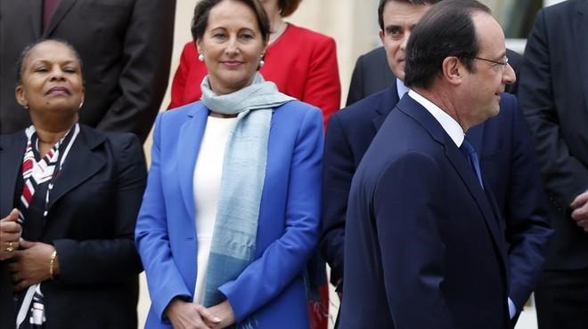 Hollande confiesa su admiración por Royal