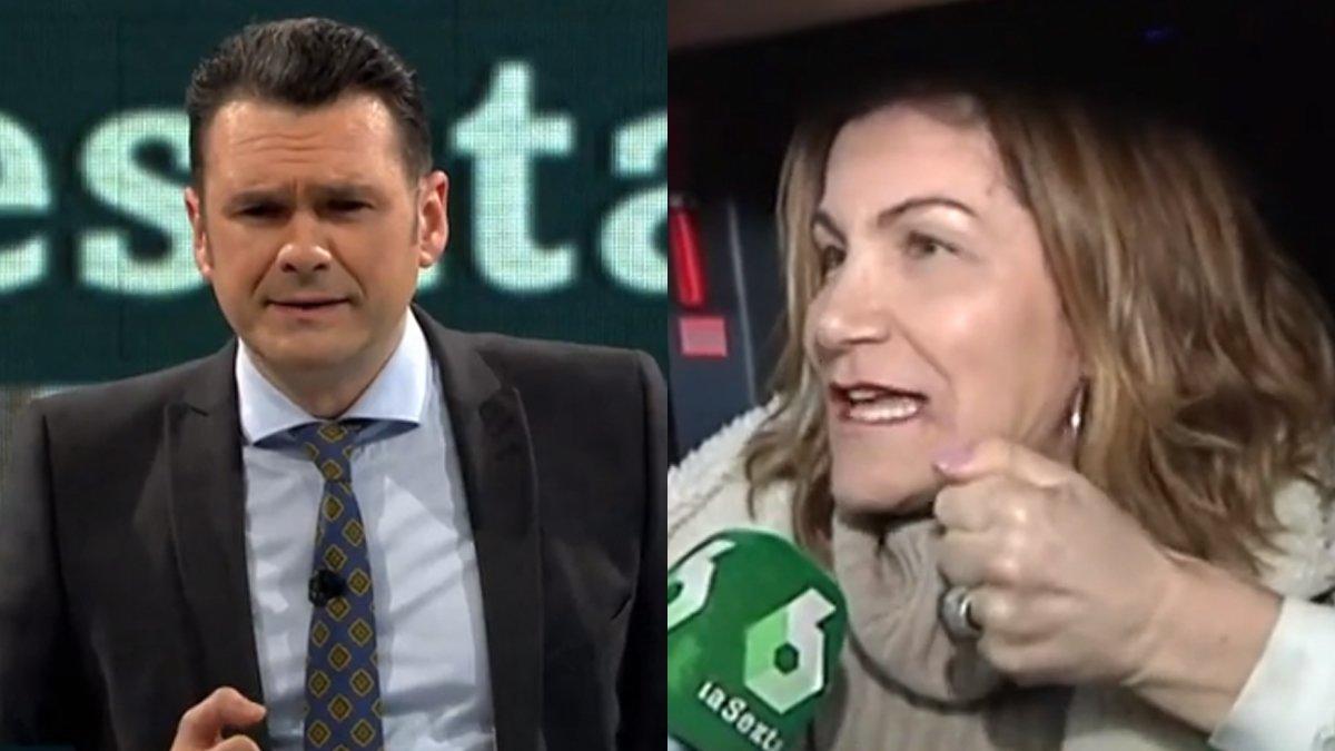 """Iñaki López se encuentra con una detractora en pleno directo: """"No soporto al presentador"""""""